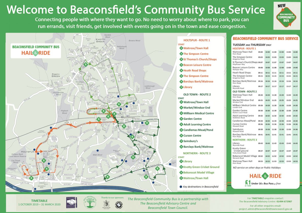 online-Beaconsfield-community-bus-october-timetable-2019 copylow