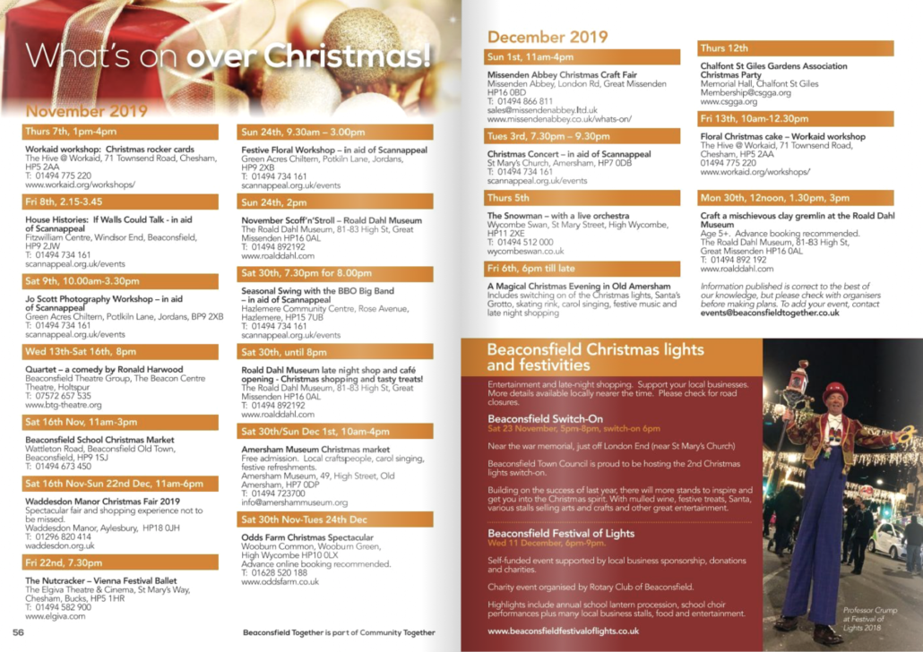 whats-on-november-december-2019-beaconsfield-amersham-chalfonts