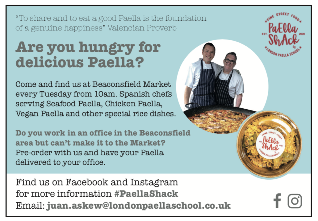 paella-shack-beaconsfield-market-delivery